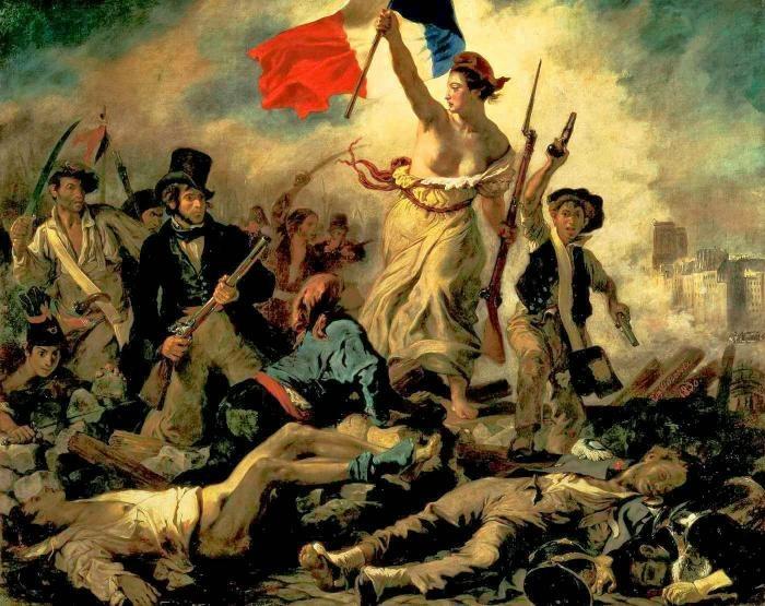 התמונה המפורסמת של הצייר Eugene Delacroix